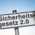 Schild zum IT-SiG 2.0
